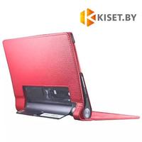 Классический чехол-книжка для Lenovo Yoga Tablet 3 10'' X50, красный