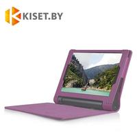 Классический чехол-книжка для Lenovo Yoga Tablet 3 8'' (850), малиновый