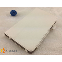 Классический чехол-книжка для Samsung Galaxy Tab 3 7.0 P3200 (SM-T210), белый