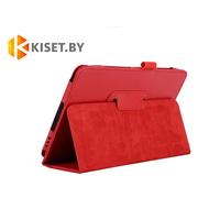 Классический чехол-книжка для Samsung Galaxy Tab A 10.1 (SM-T580/T585), красный