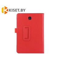 Классический чехол-книжка для Samsung Galaxy Tab E 9.6 (SM-T560), красный