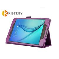 Классический чехол-книжка для Samsung Galaxy Tab E 9.6 (SM-T560), фиолетовый