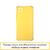 Силиконовый чехол Safe Tpu Case для Realme 6i желтый