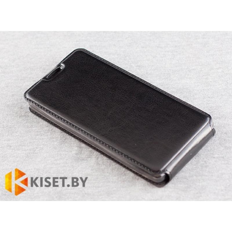 Чехол-книжка Experts SLIM Flip case для Alcatel One Touch Idol 6030, черный