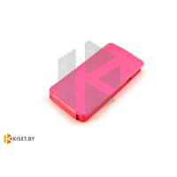 Чехол-книжка Experts SLIM Flip case для Alcatel One Touch Idol 6030, розовый