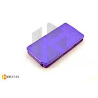 Чехол-книжка Experts SLIM Flip case для Alcatel One Touch Idol 6030, фиолетовый