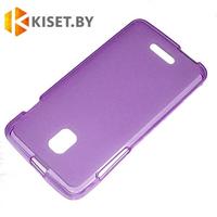 Силиконовый чехол для Alcatel One Touch POP 4+ 5056, фиолетовый