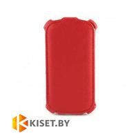 Чехол-книжка Armor Case для Alcatel One Touch Pop C3 4033D, красный