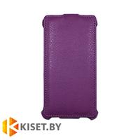 Чехол-книжка Armor Case для HTC One M7, фиолетовый