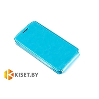 Чехол-книжка Experts SLIM Flip case для Samsung Galaxy S5 mini (G800), бирюзовый