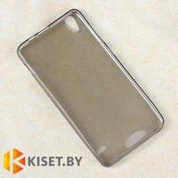 Силиконовый чехол Ultra Thin TPU для Asus ZenFone 2 Laser (ZE500KL), серый