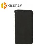 Чехол-книжка Book Case с визитницей для Asus Zenfone 4 Max (ZC554KL), черный