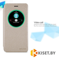 Чехол Nillkin Sparkle для Asus Zenfone Selfie (ZD551KL), золотой