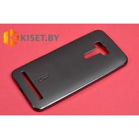 Силиконовый чехол Cherry с защитной пленкой для Asus ZenFone Selfie (ZD550KL), черный