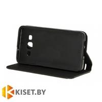 Чехол-книжка Book Case с визитницей для Asus ZenFone 4 Selfie Pro (ZD552KL), черный