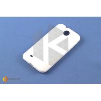 Силиконовый чехол для HTC Desire 300, белый