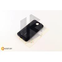 Силиконовый чехол Cherry с защитной пленкой для HTC Desire 300, черный