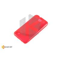 Силиконовый чехол для HTC Desire 300, красный