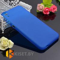 Силиконовый чехол для HTC Desire 526, синий
