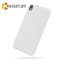 Силиконовый чехол Ultra Thin TPU для HTC Desire 816, серый