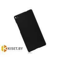 Пластиковый бампер Nillkin и защитная пленка для Huawei Ascend P8, черный