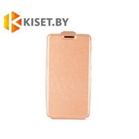 Чехол-книжка Experts SLIM Flip case для Huawei Ascend P8, золотой