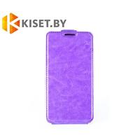Чехол-книжка Experts SLIM Flip case для Huawei Ascend P8, фиолетовый