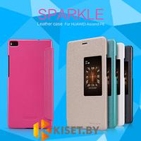 Чехол Nillkin Sparkle для Huawei Ascend P8, золотой