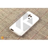 Силиконовый чехол для Huawei Honor 3, белый