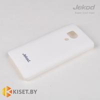 Пластиковый бампер Jekod и защитная пленка для Huawei Honor 3, белый
