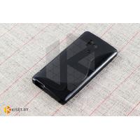 Силиконовый чехол для Huawei Honor 3, черный