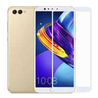 Защитное стекло на весь экран для Huawei Honor 7X, белое