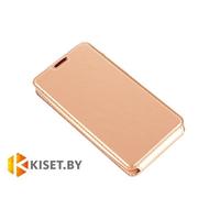 Чехол-книжка Experts SLIM Flip case для Lenovo S60, золотой