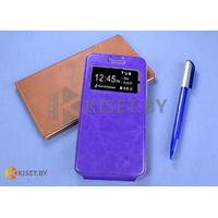 Чехол-книжка Experts SLIM Flip case vol.2 для Lenovo S60, фиолетовый