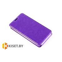 Чехол-книжка Experts SLIM Flip case для Lenovo S820, фиолетовый