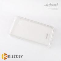 Силиконовый чехол Jekod с защитной пленкой для Lenovo Vibe Z K910, белый