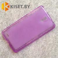 Силиконовый чехол KST MC для Lenovo Vibe Z2 фиолетовый матовый