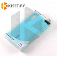 Силиконовый чехол Cherry с защитной пленкой для Lenovo P780, голубой