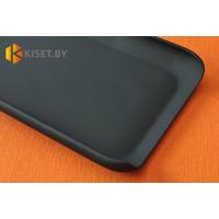 Пластиковый бампер Jekod и защитная пленка для LG Optimus G Flex, черный
