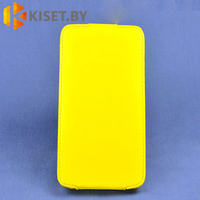 Чехол-книжка Experts SLIM Flip case для Microsoft Lumia 730/735, желтый