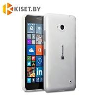 Силиконовый чехол Ultra Thin TPU для Microsoft Lumia 640, прозрачный