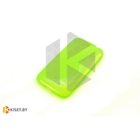 Силиконовый чехол для Nokia Lumia 730/735, зелёный с волной