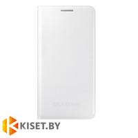 Чехол оригинальный Flip Cover для Samsung Galaxy Alpha (G850F), белый