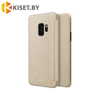 Чехол Nillkin Sparkle для Samsung Galaxy S9 (G960) золотой