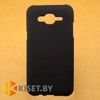 Силиконовый чехол для Samsung Galaxy J5 2015, черный