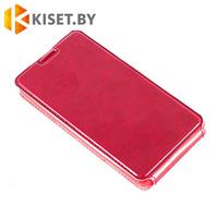 Чехол-книжка Experts SLIM Flip case для Samsung Galaxy J1 (J100H), красный