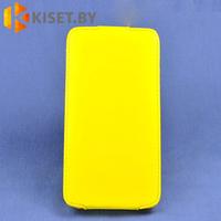 Чехол-книжка Experts SLIM Flip case для Samsung Galaxy J1 (J100H), желтый