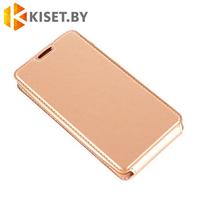 Чехол-книжка Experts SLIM Flip case для Samsung Galaxy J7 (2016) J710, золотой