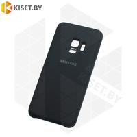 Soft-touch бампер Silicone Cover для Samsung Galaxy S9 (G960) черный