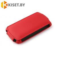 Чехол-книжка Armor Case для Samsung Galaxy Alpha (G850F), красный